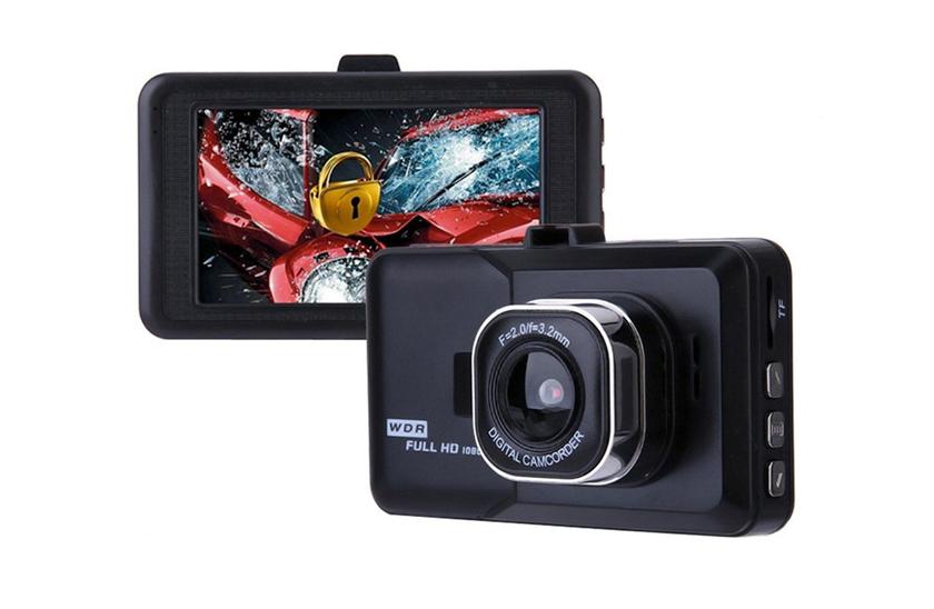 Auto kamera do auta 1080p – automatické zapnutie, 3,0 LCD display