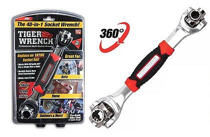 Tiger Wrench - Univerzálny kľúč - 48-v-1