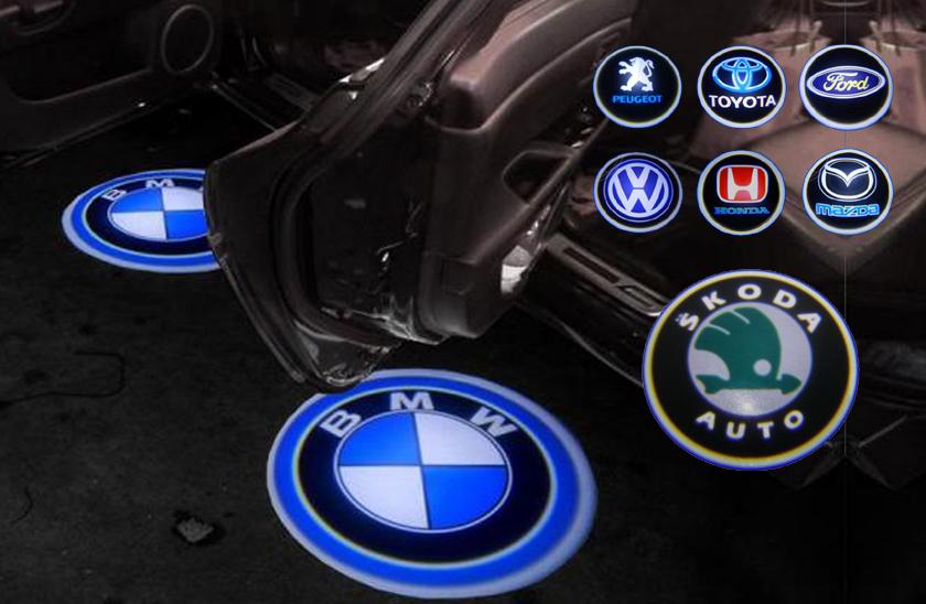 0a977b9762 LED logo projektor značky automobilu ...