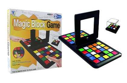 Magic Block game - Rubikov závod