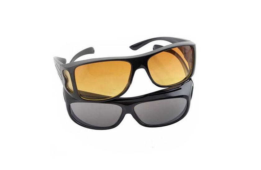 2c5a9ad24 Okuliare pre vodičov - HD Vision 2 kusy pre deň i noc. | www.cool ...